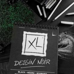 Canson XL Dessin Noir Carta da Disegno Nera 150gr.