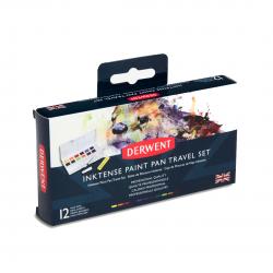 Derwent Inktense Paint Pan, Set da Viaggio