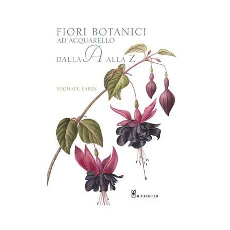Fiori botanici ad acquarello dalla a alla z ardecora for Fiori dalla a alla z
