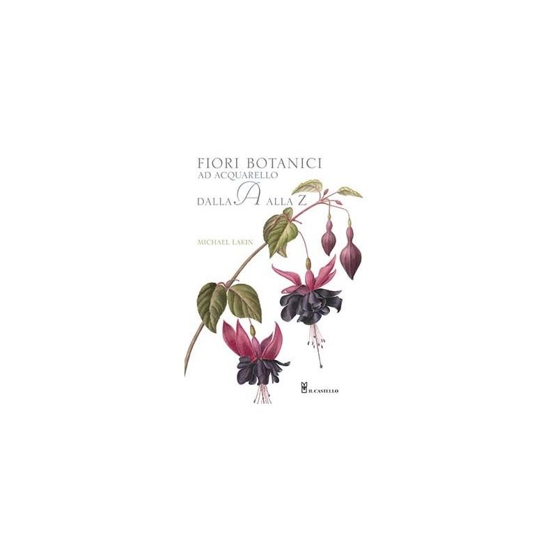Fiori botanici ad acquarello dalla A alla Z