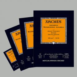 Blocchi Carta per Acquerello Arches Grana Grossa 12fg.