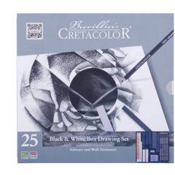 Cretacolor, Black & White Box Drawing Set