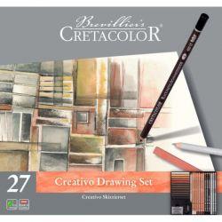Cretacolor, Creativo Drawing Set da 27pz.