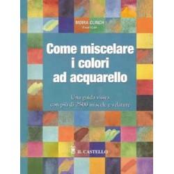 Come miscelare i colori ad acquarello