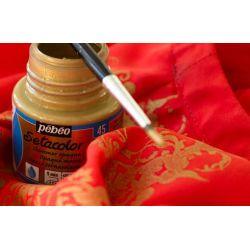Pébéo Setacolor, Colori per Tessuto Opaque, Moirè e Madreperla