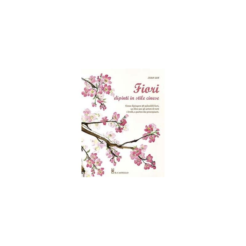 Fiori dipinti in stile cinese
