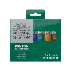 Winsor&Newton Winton, Set di Colori a Olio Fini