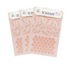 Tommy Art, Stencil Oggetti Shabby
