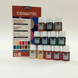 Pébéo Ceramic, Kit Scoperta 12 x 20ml