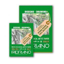 Blocco Disegno Fabriano Ecologico 200 gr.