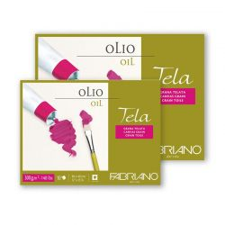 Blocco Carta per Olio Fabriano Tela 300 gr.