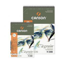 """Blocco Disegno Canson """"C"""" à Grain 180gr. c/spirale"""