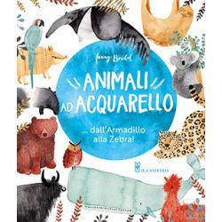 Animali ad Acquarello.. dall'Armadillo alla Zebra!