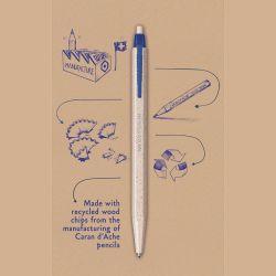 Penna a Sfera Blu Caran D'Ache 825
