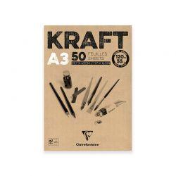 Carta Kraft Blocco Clairefontaine, 120gr.
