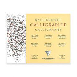 Carta per Scrittura Calligrafica Blocco Clairefontaine, 130gr.