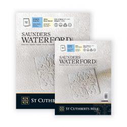 Blocchi Carta per Acquerello Saunders Waterford GF 12 fogli