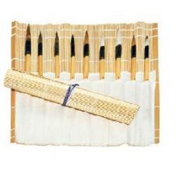 Stuoia in bambu' con tasche