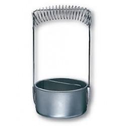 Lavapennelli in alluminio