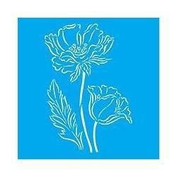 Stencil Tulipani