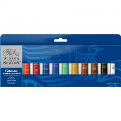 Conf. W&N Cotman, Tubetto 8 ml, 12 pz.