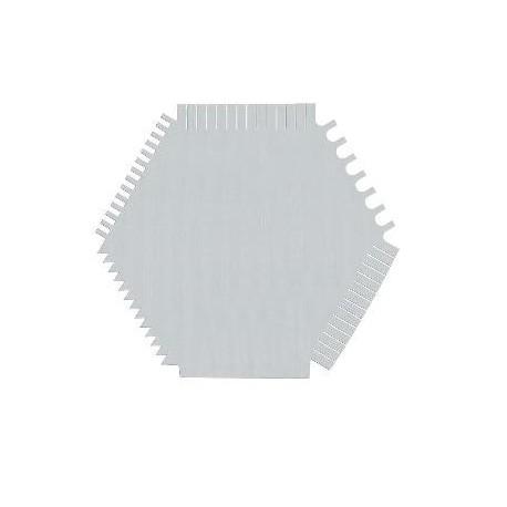 Pettine in acciaio - COMB 06B