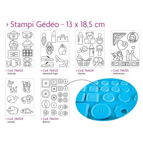 Pebeo, Gedeo, Stampi 13 x 18,5 cm
