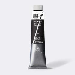 Maimeri Brera, Acrilico Extrafine, Bianco Titanio, 200 ml