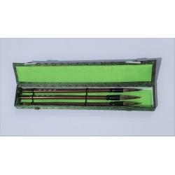 Set pennelli cinesi lontra