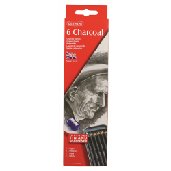 Derwent Charcoal - Confezione 6 pz.
