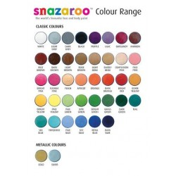 Snazaroo, Colori per Body Painting