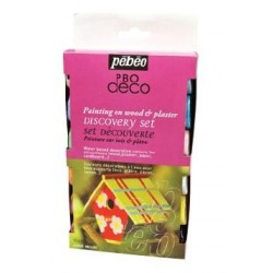 Pebeo, Decò Brillante, Kit Scoperta 12 x 20ml