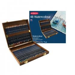 Derwent Watercolour, Cofanetto in legno da 48 pz