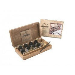 W&N Calligraphy Set, Wooden Box