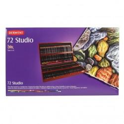 Derwent Studio, Cofanetto in Legno da 72 pz.