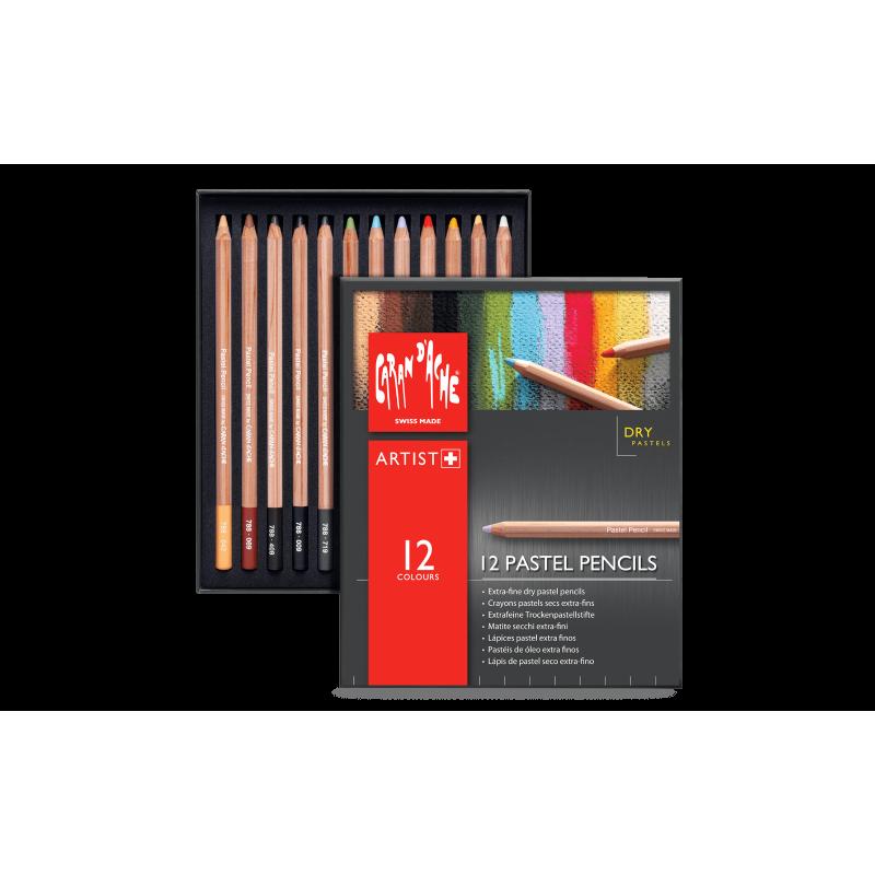 Caran D'Ache, Pastel Pencils, Confezioni di Matite Secche