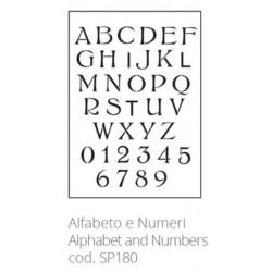 Tommy Art, Stencil Alfabeto e Numeri