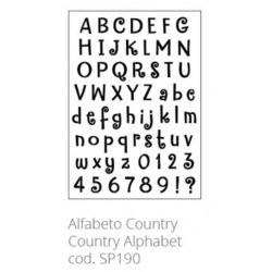 Tommy Art, Stencil Alfabeto Country