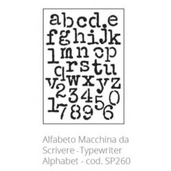 Tommy Art, Stencil Alfabeto Macchina da Scrivere