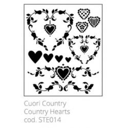 Tommy Art, Stencil Cuori Country