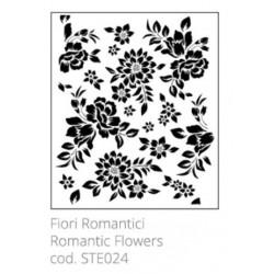 Tommy Art, Stencil Fiori Romantici