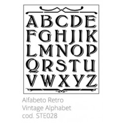 Tommy Art, Stencil Alfabeto Retrò