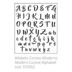 Tommy Art, Stencil Alfabeto Moderno