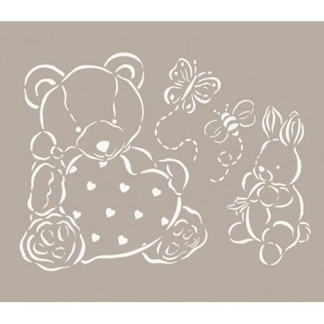 To-Do, Stencil Orso e Coniglietto