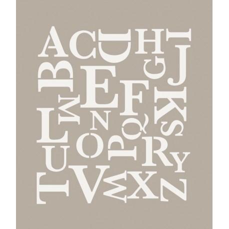 To-Do, Stencil Alfabeto Moderno