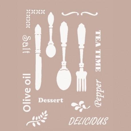 Stencil Cucina