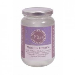 "Medium Cracklè ""Fleur"""