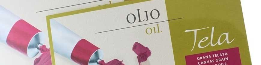 Carta per colori ad olio