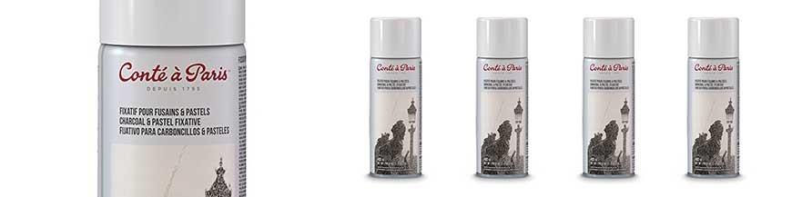 Spray fissativo per pastelli