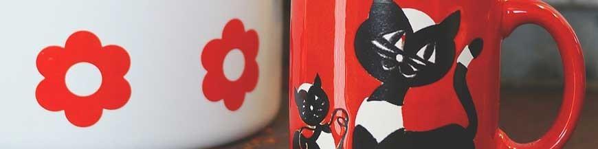 Colori e pennelli per ceramica